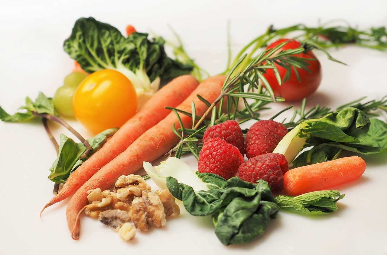 Micronutrients in fruits and vegetables