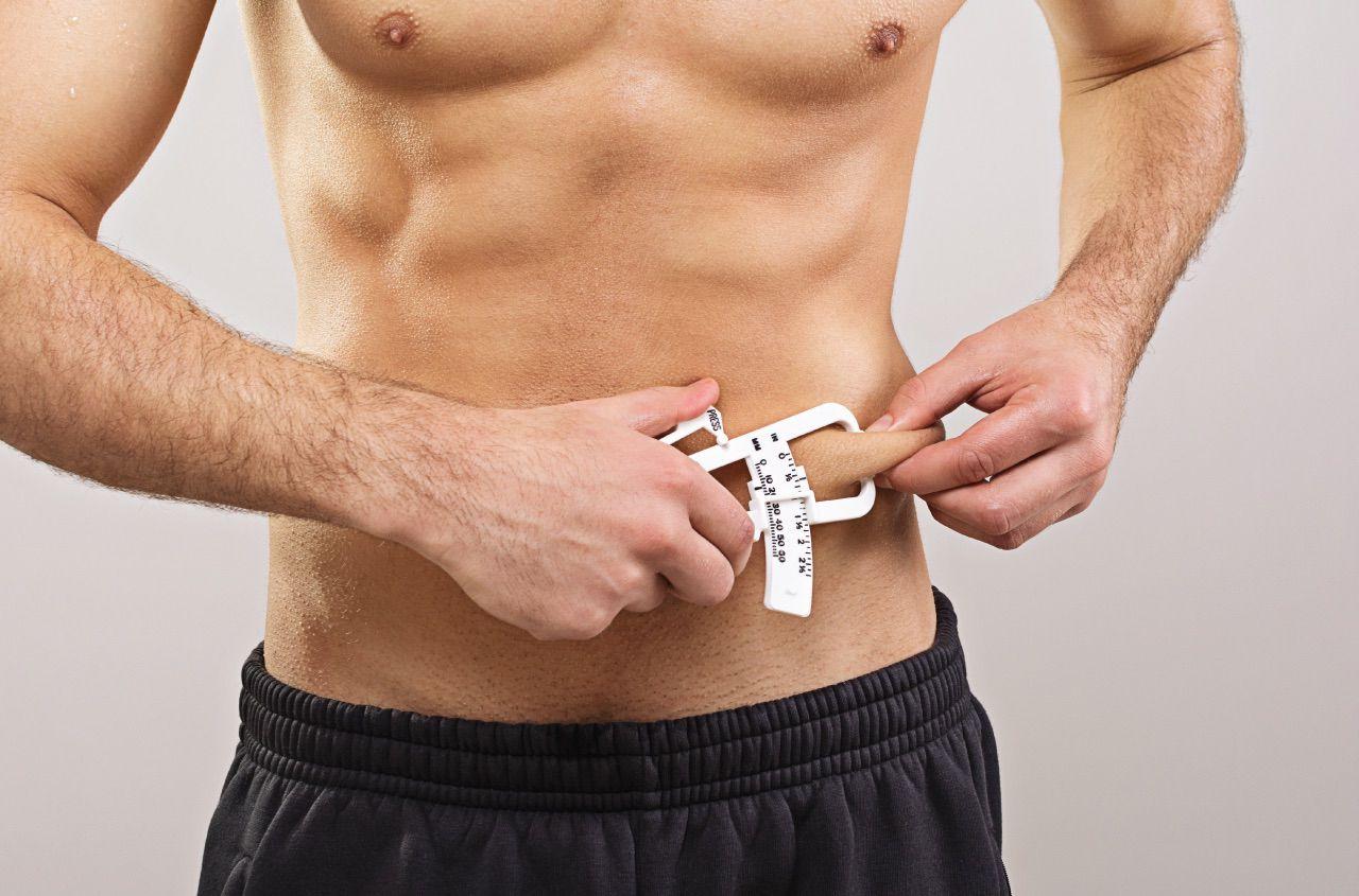 Measuring body part percentage