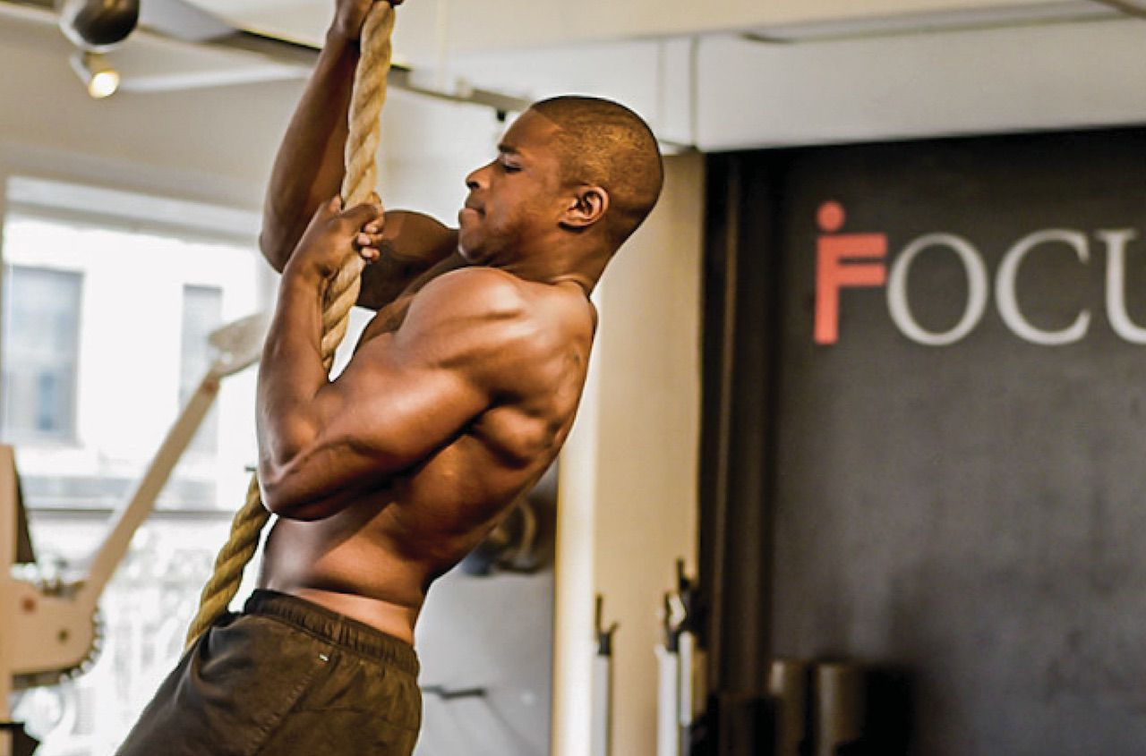 Rope Pull Up Workout